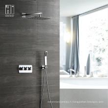 Robinet de douche en laiton froid et chaud à deux fonctions