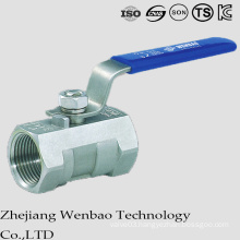 ANSI 1PC Casting Reduced Bore Female Thread Ball Valve