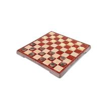 Venda quente dobrar xadrez xadrez de madeira