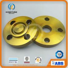 Reborde forjado Rtj del reborde ciego del acero de carbono de ASME B16.5 (KT0246)