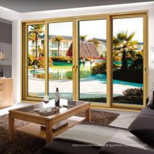 2015 New Style Thermal Break Environmentally Aluminium Sliding Door