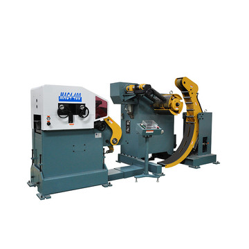 Nc Roller Feeding Straightening Encoiler Machine