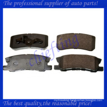 D868 425391 37199 for citroen c-crosser brake pads rear