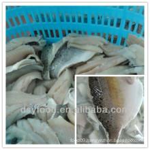 fujian factory of frozen seabass fillet/ sea bass fillet
