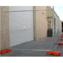 2.1mx2.4m Строительство Горячий окунутый оцинкованный временный забор