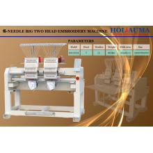 HOLiAUMA Good Deal DAHAO Sistema de dos cabezas máquina de bordado automatizado para uso comercial e industrial