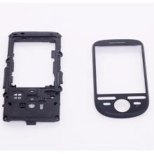 Schwarzer Kunststoff-Handyzubehör
