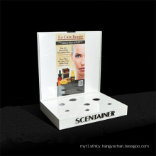 Skin Care Product Display Tabletop Acrylic Cosmetic Display