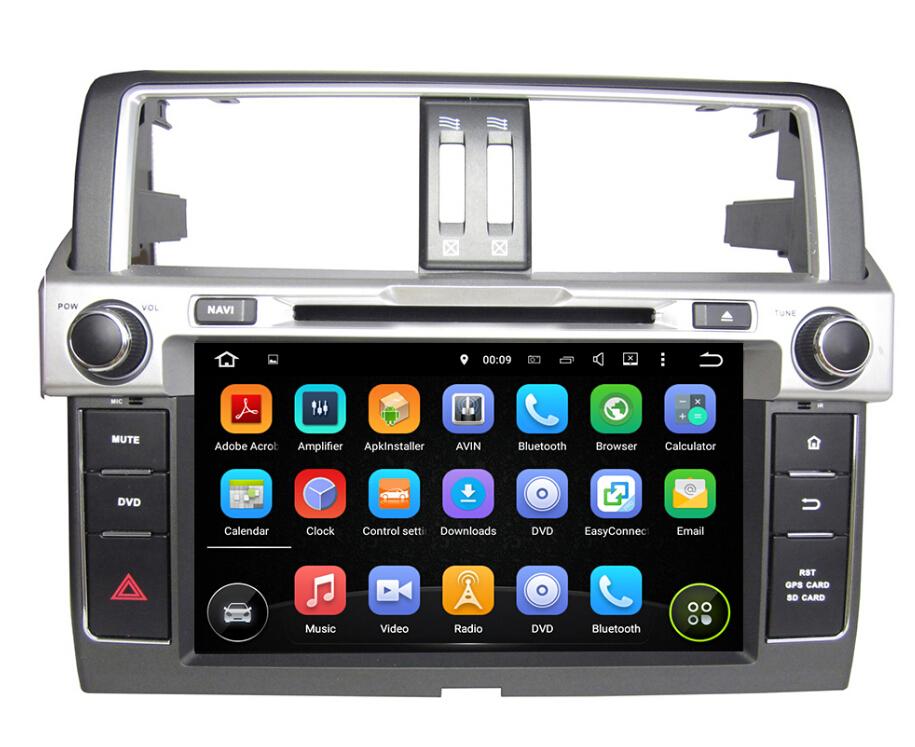 Toyota Prado 2014 car dvd player