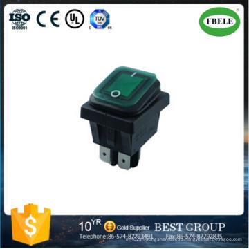 Водоустойчивый переключатель большой ток выключатель с подсветкой (FBELE)