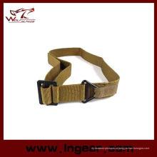 Polícia de cinto tático Cqb militar tática Combat Black Belts