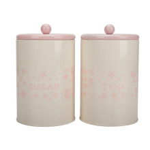 Tea sugar coffee canister set