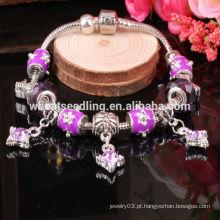 Venda Por Atacado grânulos pulseira de contas artesanais pulseira bracelete pulseiras de charme
