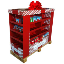 Custom Corrugated Retail Pallet Display for Gift Card