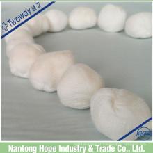 bola de gaze de algodão medicinal no fornecimento a granel