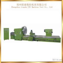 Máquina pesada horizontal del torno de C61250 Low Cost Heavy para cortar
