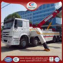 Nuevo HOWO 8 X 4 Drive breakdown camión, vehículo del wreker para la venta