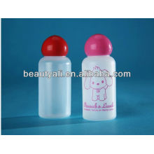round cap plastic bottle