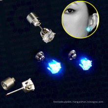 led magnetic earrings