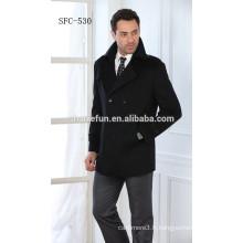 mode européenne laine hommes manteaux