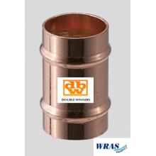 Copper Solder Ring Straight Coupler 10mm
