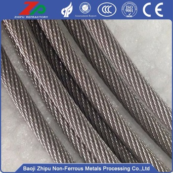tungsten rope