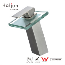 Haijun Cheap Artistic 0.1~1.6MPa Single Handle Brass Bathroom Basin Faucets