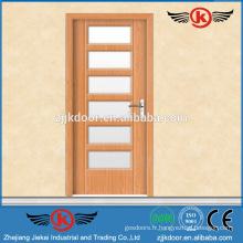 JK-P9085 prix de la salle de bain à bas prix pvc portes qida / pvc fenêtre et porte profil extrudeuse / porte feuilleté
