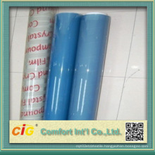 Transparent PVC Soft Film Blue for Wire and Cable