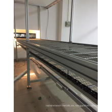 Sistema de línea de secado de recubrimiento en polvo