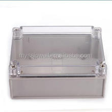 Saipwell New IP67 ABS Transparent outdoor cable junction box with CE, Rosh 125*175*100mm