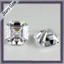 Высокое качество квадратной формы Asscher Cut кубических ювелирных Zircnoia