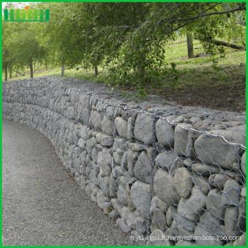 Prix d'usine solide grille métallique décorative lowes gabion stone baskets