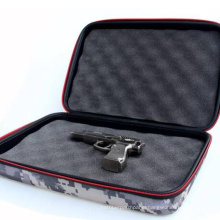 Customized Waterproof EVA Rectangle Pocket Pistol 9mm Gun Case