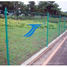 Cerca de fio soldada popular do PVC feita em China