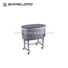P252 80L Oval Getränke Rolling Cooler Nische Warenkorb
