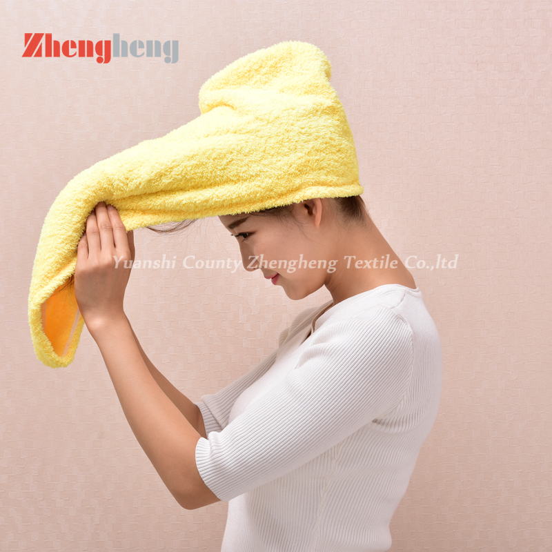 Coral Fleece Hair Cap (15)