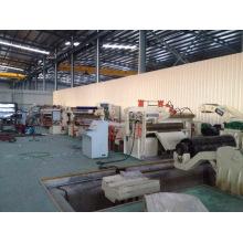 Máquina de corte de aço galvanizado durável habilitado Ce & ISO da bobina