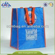 China Green Laminated pp woven bag for sugar