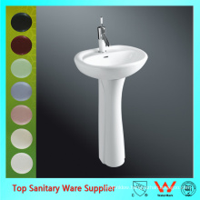 Chinese Manufacture Sanitary Ware Cheap Pedestal Sinks