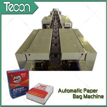 Bolsa de papel de alta velocidad que hace la máquina con la impresión de 2 colores