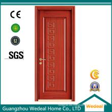 Puerta interior de madera de MDF / PVC puerta laminada