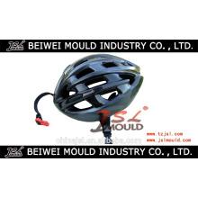 Moule en plastique adapté aux besoins du client de casque de bicyclette d'injection
