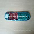 Bande de poignet de peluche faite sur commande de conception spéciale avec des corrections de paillette