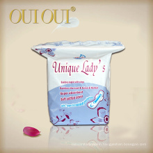 Factory price night use ions sanitary napkins high quality