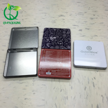 small metal packaging paint tin box for cosmetic