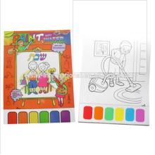peinture à l'aquarelle, paintgames, enfants peinture livre
