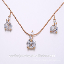 wholesale jewelry supplies china simple design jewelry set gold platting accessories