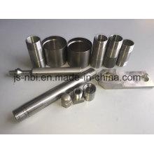 Combinaison en aluminium de la pièce d'usinage