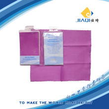 Microfiber Optical Cleaning Cloth PVC Bag